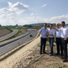 CDU-Verkehrsausschuss besichtigt B31-Baustelle