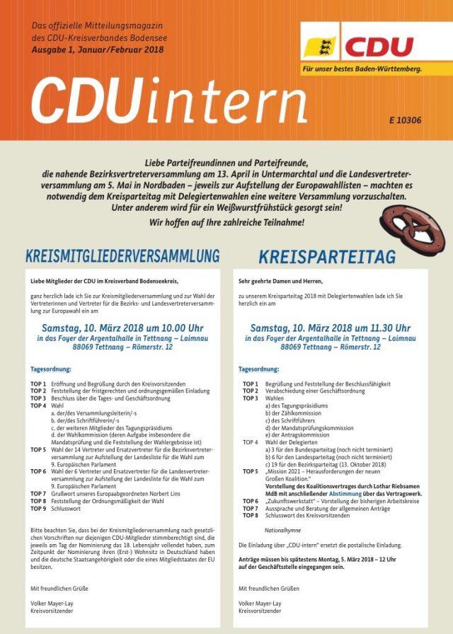 CDU-Intern 2018-1