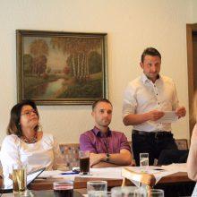 Konstituierende Kreisvorstandssitzung am 27.06.17 in Bermatingen