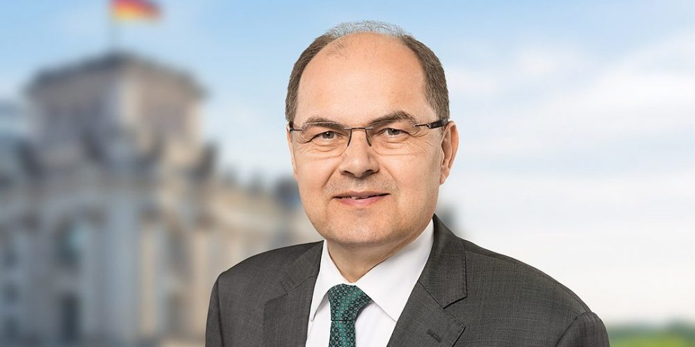 Bundeslandwirtschaftsminister Christian Schmidt kommt