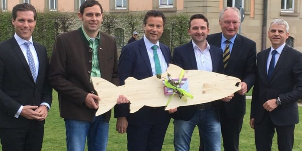 CDU am See kümmert sich bei Minister Hauk um Belange der Berufsfischer