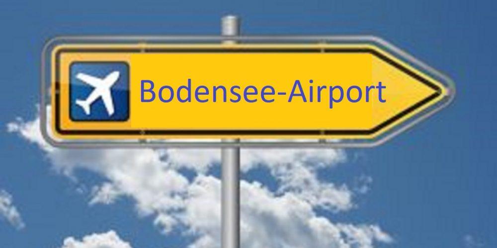 CDU Bodenseekreis steht hinter dem Flughafen Friedrichshafen