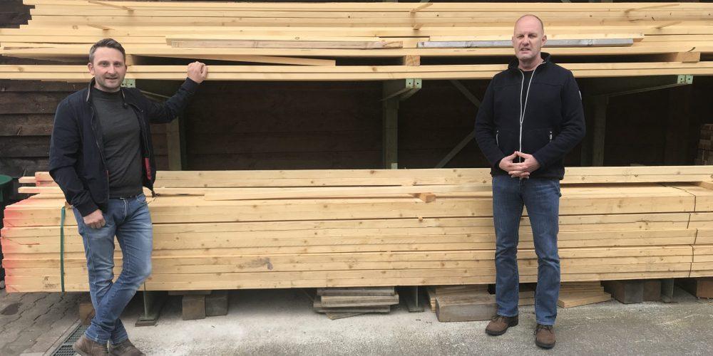 Bauholz für den heimischen Markt zurückhalten